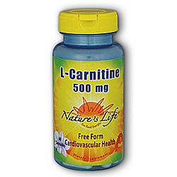 Nature's Life L-Carnitine 500 mg