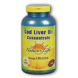 Nature's Life Cod Liver Oil Concentrate