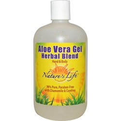 Nature's Life Aloe Vera Gel Herbal Blend
