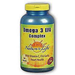 Nature's Life Omega 3 EFA Complex