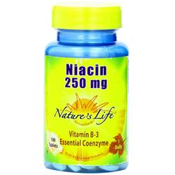 Nature's Life Niacin 250 mg