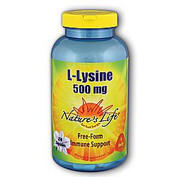 Nature's Life L-Lysine 500 mg