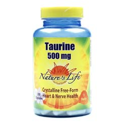 Nature's Life Taurine 500 mg