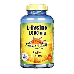 Nature's Life L-Lysine 1-000 mg