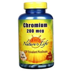 Nature's Life Chromium 200 mcg