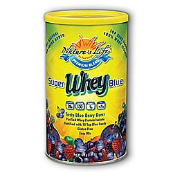 Nature's Life Whey- Super Blue Blue Berry