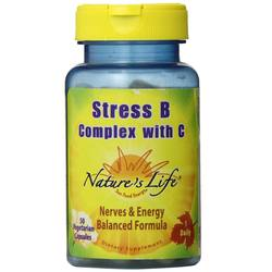Nature's Life Stress B Complex with C