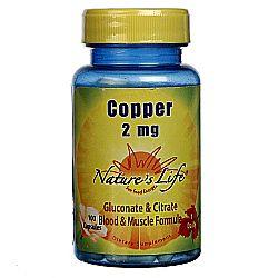 Nature's Life Copper 2 mg