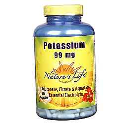 Nature's Life Potassium 99 mg