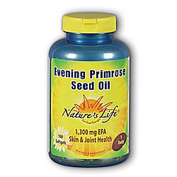 Nature's Life Evening Primrose Seed Oil