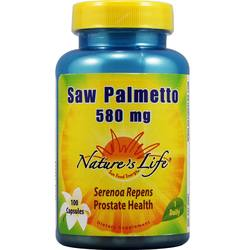 Nature's Life Saw Palmetto 580 mg