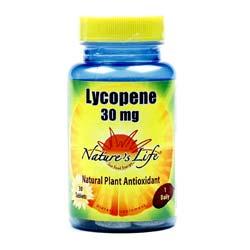 Nature's Life Lycopene 30 mg