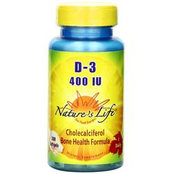 Nature's Life D-3 400 IU