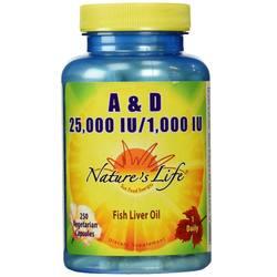 Nature's Life A  D 25-000 IU1-000 IU