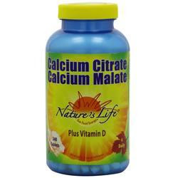Nature's Life Calcium Citrate Malate