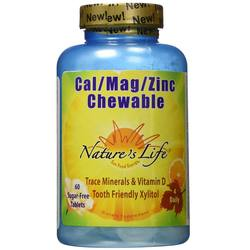 Nature's Life Cal Mag Zinc Chewable