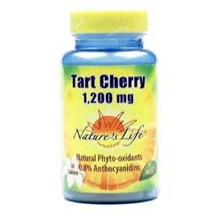 Nature's Life Tart Cherry 1-200 mg