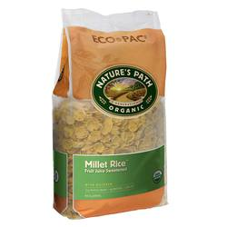 Natures Path Organic Millet Rice Flakes Cereal