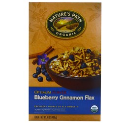 Natures Path Optimum Power Blueberry Cinnamon Flax Cereal