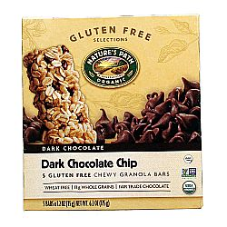 Natures Path Dark Chocolate Chip Chewy Granola Bars