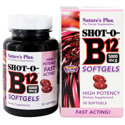 Nature's Plus Shot-O-B12