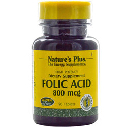 Nature's Plus Folic Acid