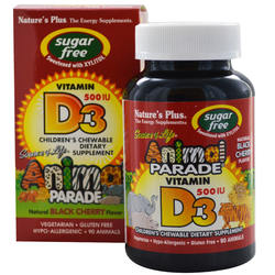 Nature's Plus Animal Parade Children's Vitamin D3