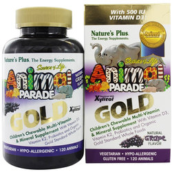 Nature's Plus Animal Parade Gold Children's Chewable Multi-Vitamin  Mineral