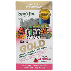 Nature's Plus Animal Parade Gold Children's Chewable Multi-Vitamin