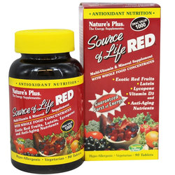 Nature's Plus Source of Life Red Multi-Vitamin  Mineral