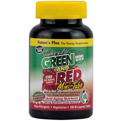 Nature's Plus Source Of Life Green And Red Mini-Tabs