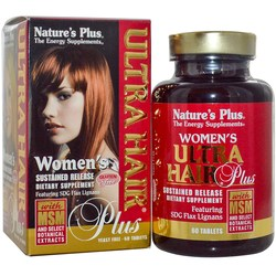 Nature's Plus Women's Ultra Hair Plus with MSM
