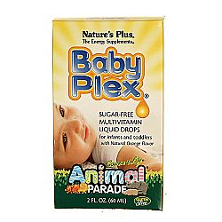Nature's Plus Animal Parade Baby Plex Multi Sugar-Free