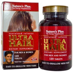 Nature's Plus Ultra Hair-Sustained Release Mini Tabs
