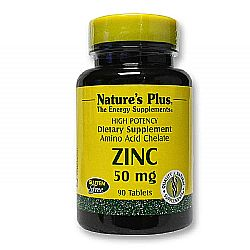 Nature's Plus Zinc 50 mg