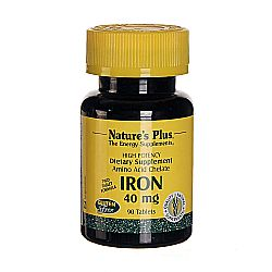 Nature's Plus Iron - 40 mg