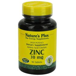 Nature's Plus Zinc 30 mg