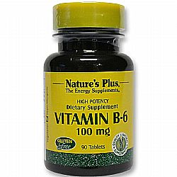 Nature's Plus Vitamin B-6 100 mg