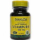Nature's Plus Vitamin B-6 100 mg