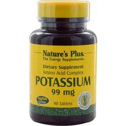 Nature's Plus Potassium 99 mg