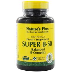 Nature's Plus Super B-50 Vegetarian Capsules