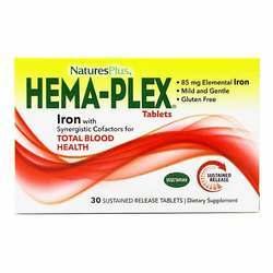 Nature's Plus HEMA-PLEX Iron