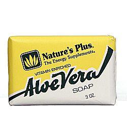Nature's Plus Vitamin Enriched Aloe Vera Soap