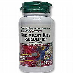 Nature's Plus Red Yeast Rice with Gugulipid