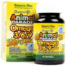 Nature's Plus Animal Parade Omega 369 Junior Lemon