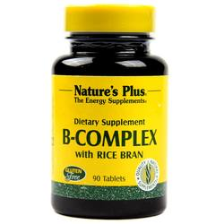 Nature's Plus B-Complex with Rice Bran