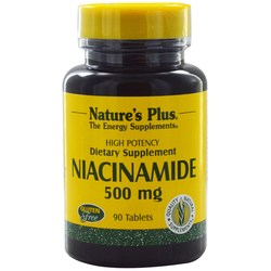 Nature's Plus Niacinamide 500 mg