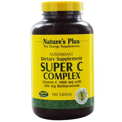 Nature's Plus Super C Complex Tablets 1000 mg