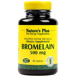 Nature's Plus Bromelain 500 mg