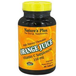 Nature's Plus Orange Juice 250 mg